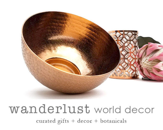 Wanderlust World Decor